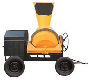 Heavy Duty Hydraulic Concrete Mixer with Hopper Industrial Equipment Centre Secunderabad