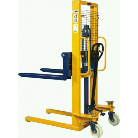 Hydraulic Stacker Trolley Industrial Equipment Centre Ranigunj Secunderabad