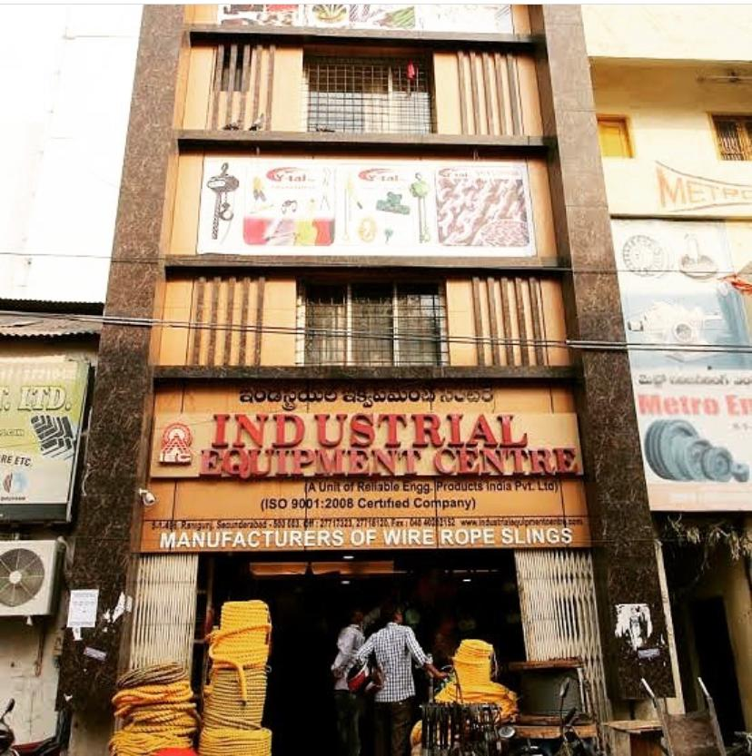 Industrial Equipment Centre Head Office Front Secunderabad