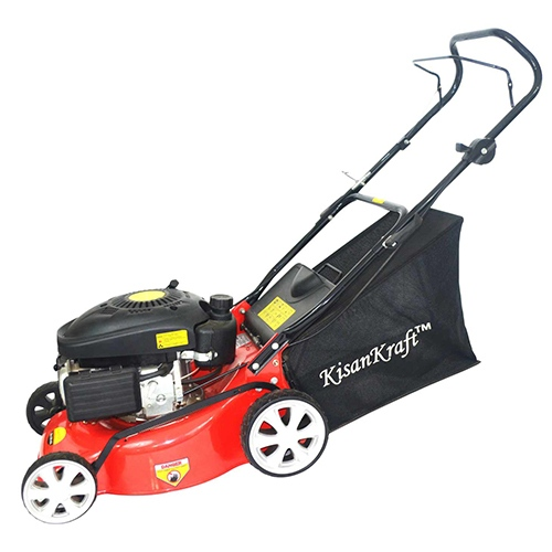 KisanKraft Petrol Lawn Mower KK-LMP-6418 Industrial Equipment Centre Ranigunj Secunderabad