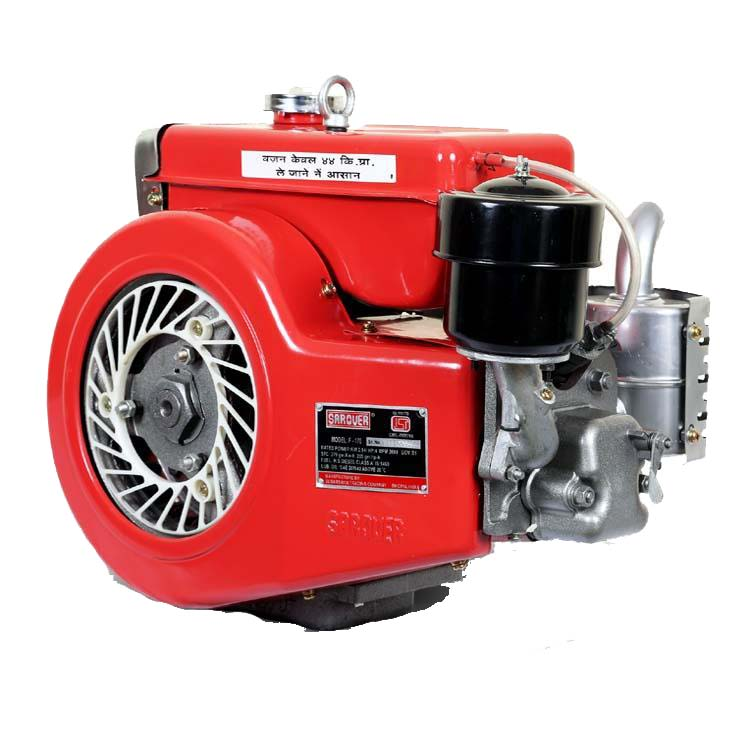 Sarover 4 Stroke Diesel Engine F-170 Industrial Equipment Centre Ranigunj Secunderabad