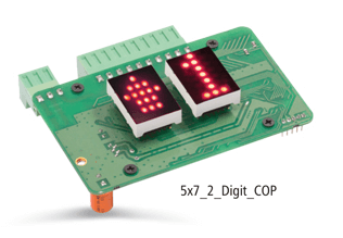 ADON 5 x 7 2 DIGIT COP DOT MATRIX DISPLAY Reliable Engineering Products India Pvt Ltd