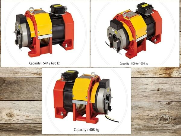 Adon Imported Hepu Power Gearless Motors for Elevators Reliable Engineering Products India Pvt Ltd
