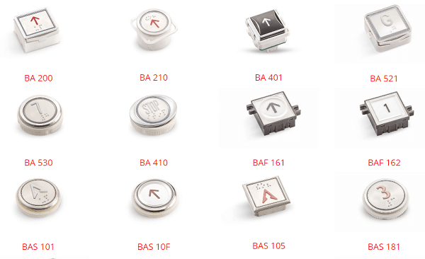 BST Push Buttons for Lift Elevators Reliable Engineering Products India Pvt Ltd Ranigunj Secunderabad