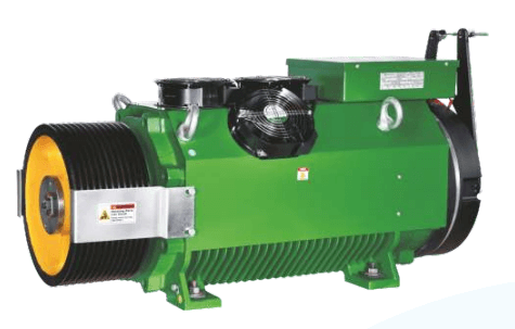 Bharat Bijllee GreenstarMax Gearless Machine for Goods Elevator