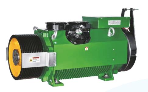 Bharat Bijllee GreenstarMax Gearless Machine for Goods Elevator