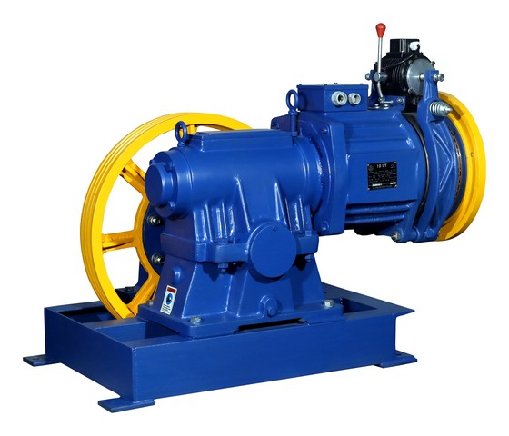 Elevator Traction Machine VI-10 UT Reliable Engineering Products India Pvt Ltd