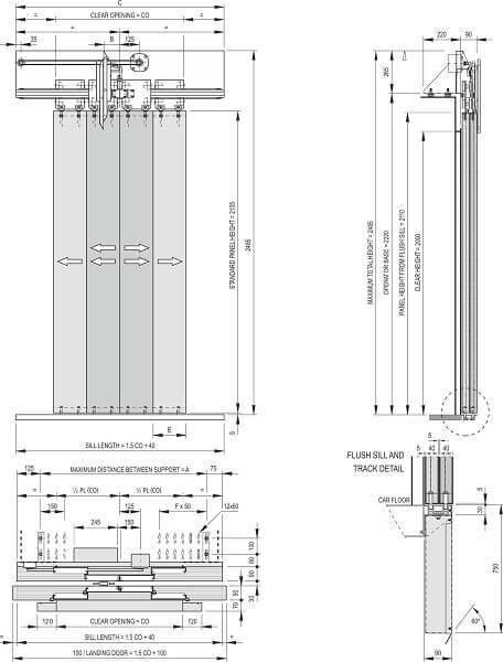 Fermator 4-panel-centre-parting-car-door-model-40-10