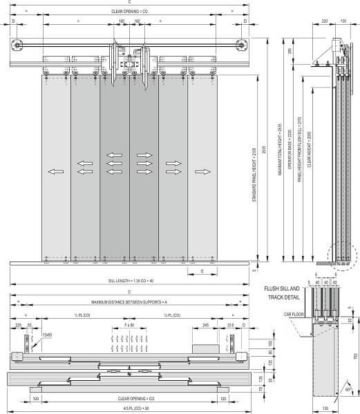 Fermator 6-panel-centre-parting-car-door-model-40-10