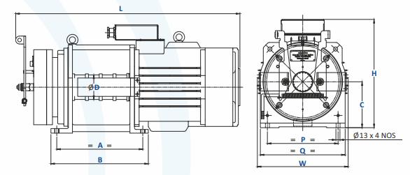 Greenstar Belt Machine Dimensions