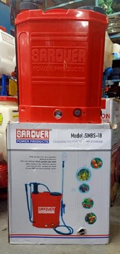 Sarover 2 in 1 Battery Operated Power Sprayer SMBS-18 Industrial Equipment Centre Ranigunj Secunderabad