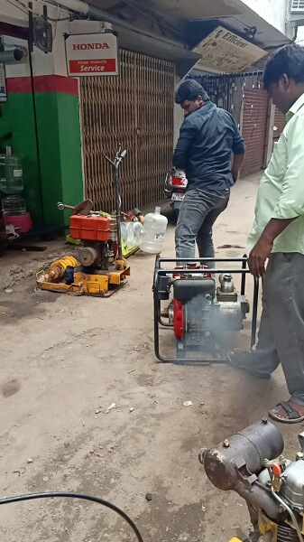 Water Pumpset Successful Repairing