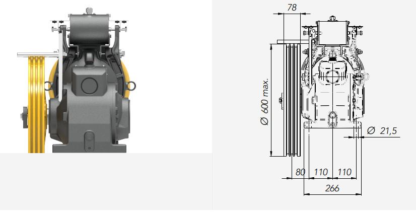 Montanari M67 Gearbox Lift Motor Technical Drawings 2 Reliable Engineering Products India Pvt Ltd Ranigunj Secunderabad