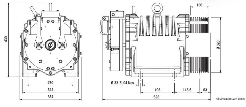 Sharp SEG-40 Gearless Elevator Traction Machine Diagrams Reliable Engineering Products India Pvt Ltd Ranigunj Secunderabad