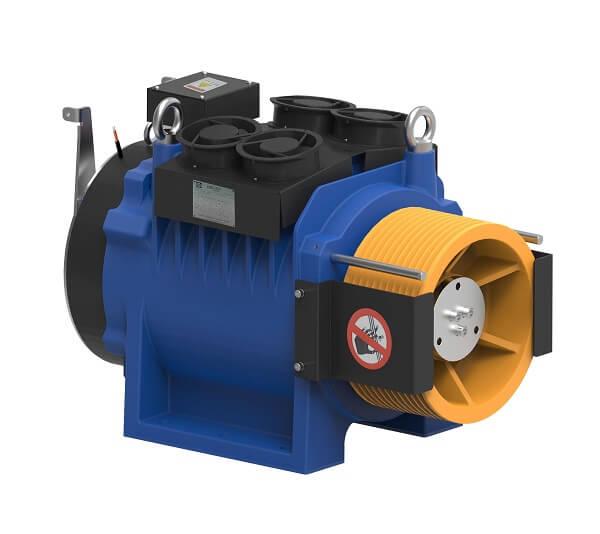 Sharp SEG-70 Gearless Elevator Traction Machine Reliable Engineering Products India Pvt Ltd Ranigunj Secunderabad