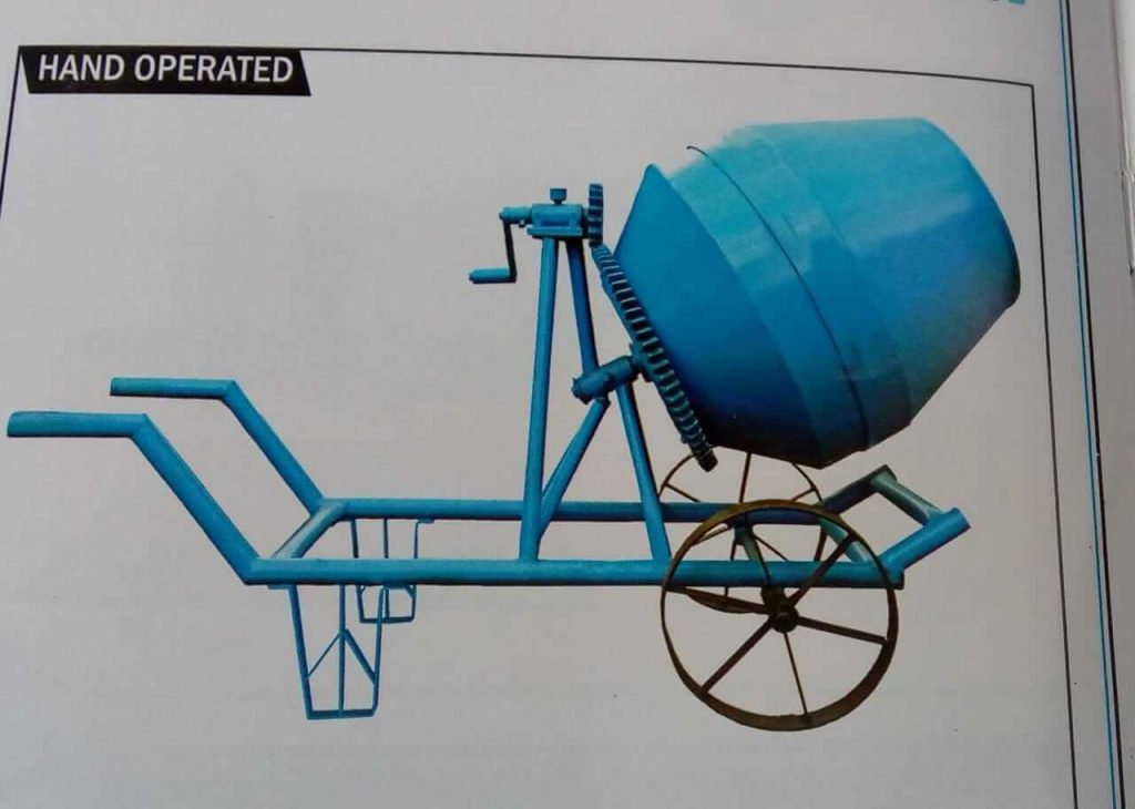 Motorized and Manual Concrete Mixer